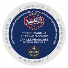 Timothy's - French Vanilla (24 kcups-pack)